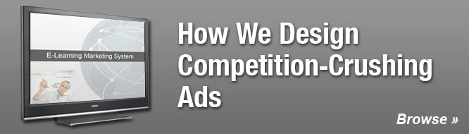 How We Design Competition-Crushing Ads