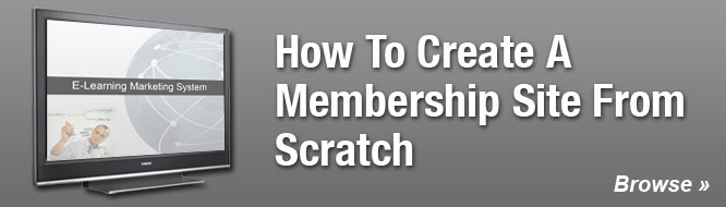 How To Create A Membership Site From Scratch