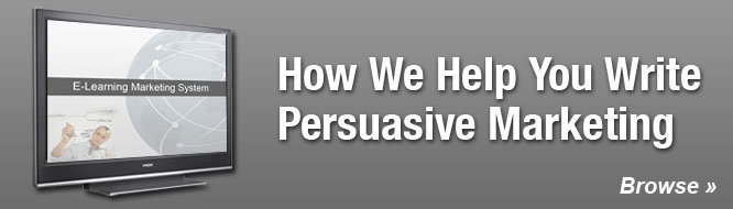 How We Help You Write Persuasive Marketing